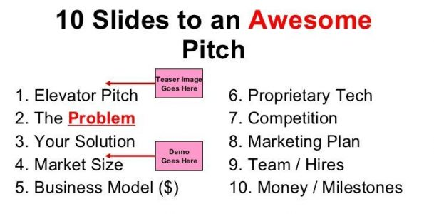 A good investor pitch deck by Dave McClure