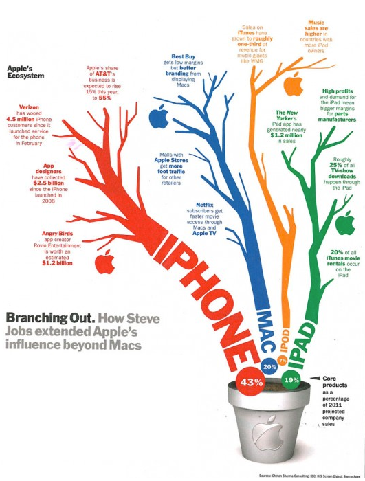Apple's Business Ecosystem presented in Time Magazine