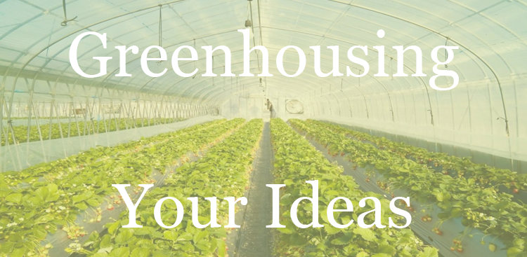 Greenhousing ideas: an alternative to brainstorming
