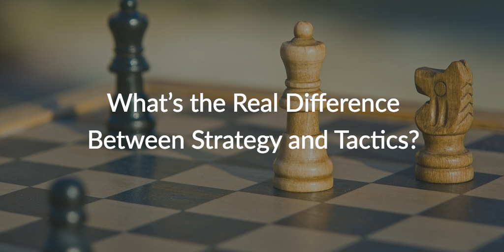 difference-strategy-tactics