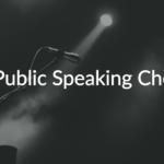 19 Things to Keep in Mind Before Speaking in Public