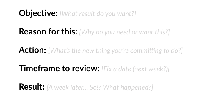 The Feedback Analysis Template