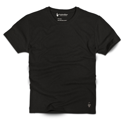 GoudronBlanc consistently offers high-quality T-shirts for men